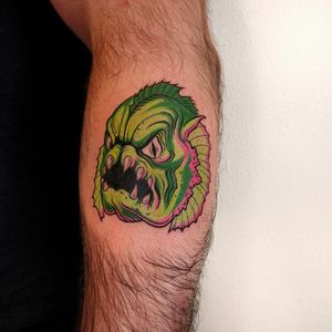 Swamp monster, done at Monstera Ink in Utrecht. From my flash.