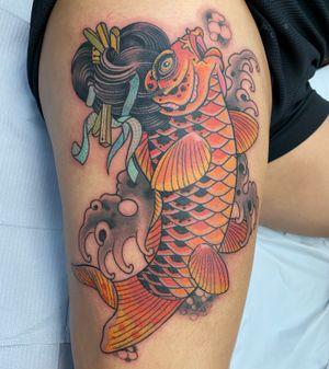 Tattoo from Darren Brass