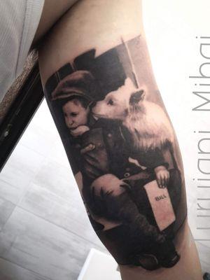 Appointment: turuianumihaialexandru@gmail.com  www.turuianumihai.com https://www.instagram.com/turuianu.mihai  @cheyenne_tattooequipment @fkirons @worldfamousink @no.regrets.uk #legendaryink #xiontattoomachine  #relistictattoo #bristoltattoo #photorelism #tattooartist #tattoosurrealism #skinart #skinartmag #inkaddict #inksav #realismtattooartist #art #ink #realismartist #realismotattoobristol #inked #photorealism #inked #painttattoo #inkaddicted #inklovers #bristol #portraittattoobriatol