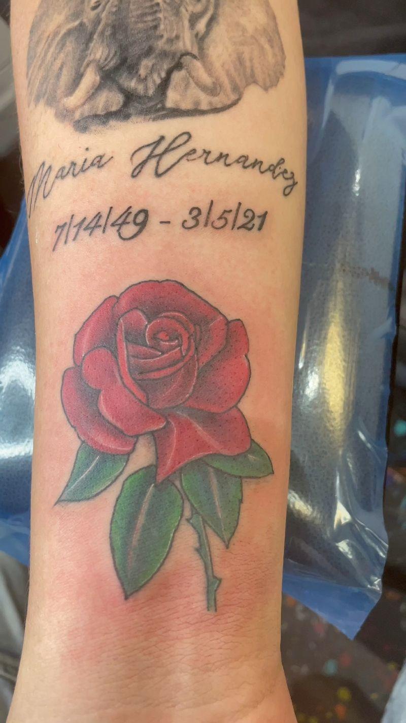 Tattoo from TY TATTZ