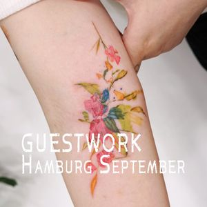 Hello, I will go guestwork to Hamburg,Germany in september. If you have interest, please send me an e-mail. E-mail : 9roomtattoo@gmail.com