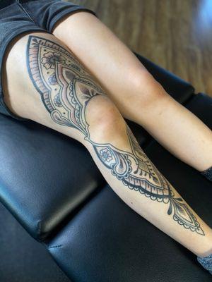 Ornamental leg