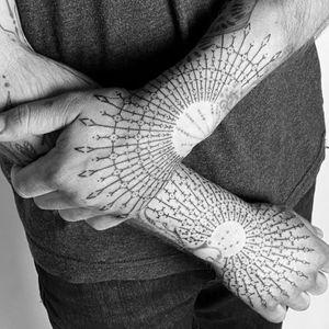 Geometric hands