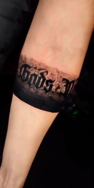 Love script tattoos!