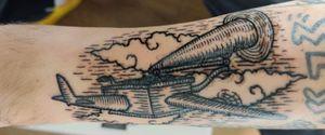 Neutral Milk Hotel - In the Aeroplane Over the Sea tattoo