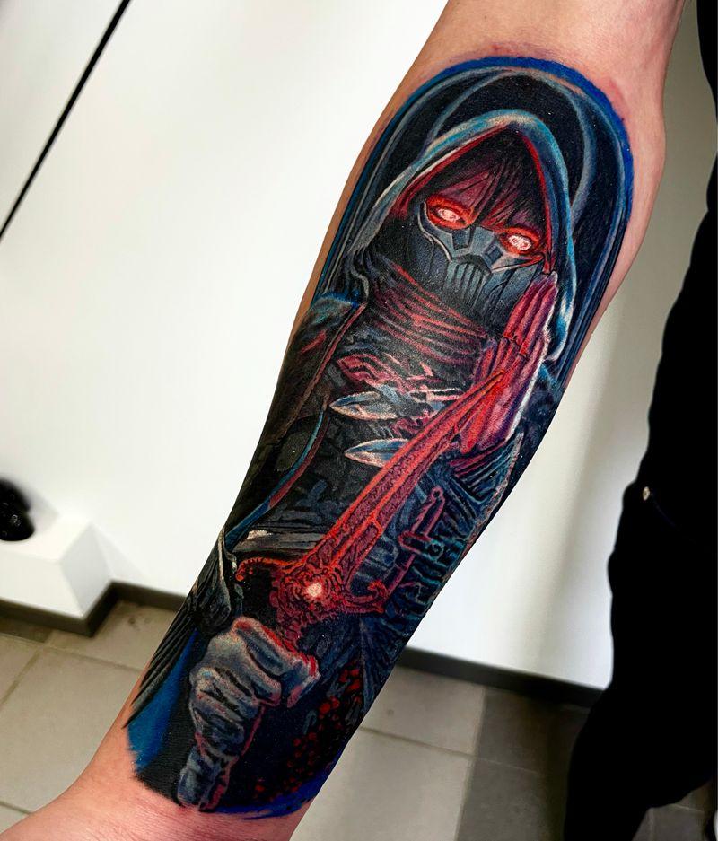 Tattoo from Karol Czajkowski