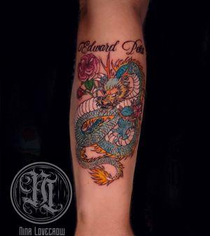 Memorial tattoo: Dragon