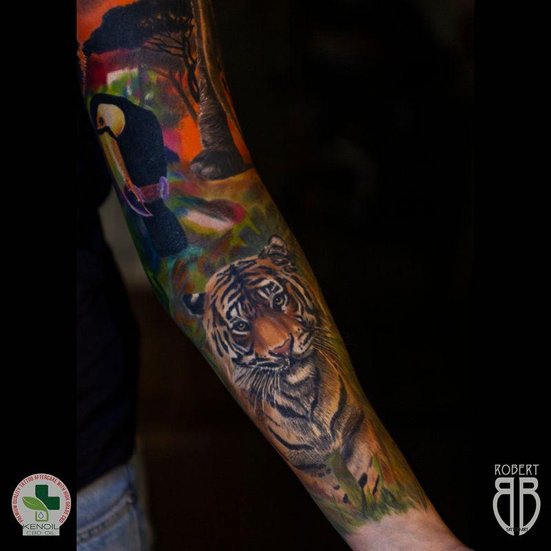 Tattoo from Tattoo Art by Robert BB
