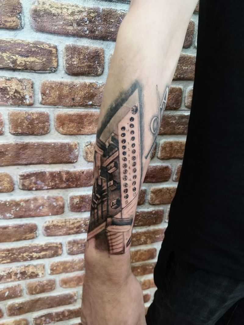 Tattoo from Jan Leidelmeyer