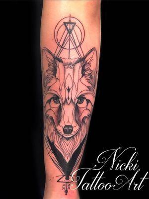 FOX Lineart Mandala