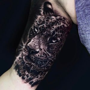 Jaguar piece done in about 5 hours!