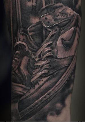 Close up , Nike