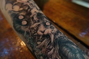 Demon cat! Done in Middlesbrough :) Thank you Denton!