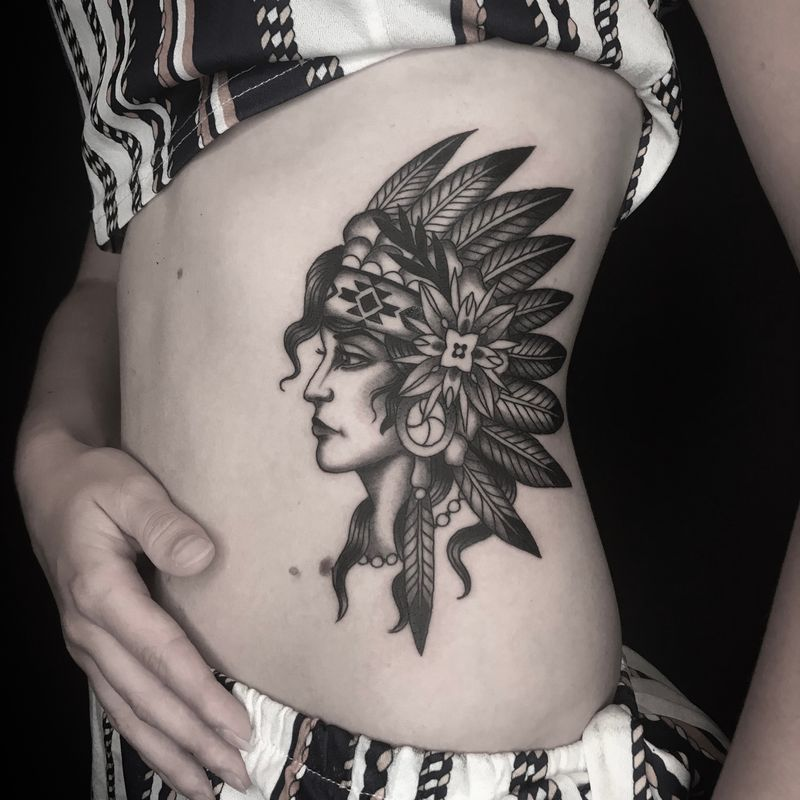 Tattoo from Nate Fierro