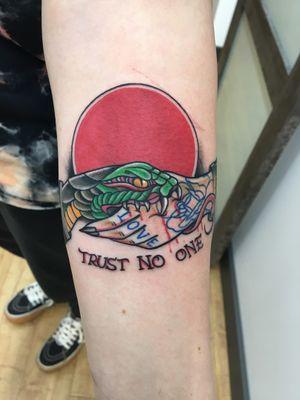 Tattoo from Levi Ruiz