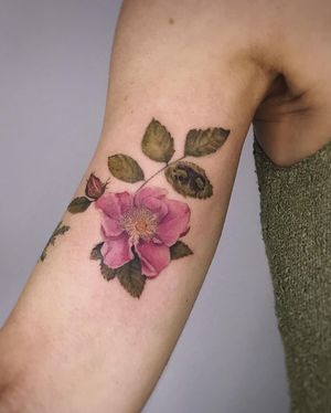 Tattoo by Fleur Noire Tattoo LA