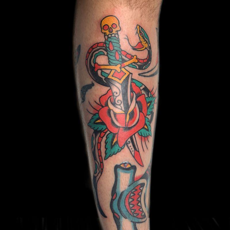 Tattoo from @benjaminhuayu