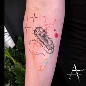 🔬🧫🧬 . For custom designs and booking; alperfiratli@gmail.com . . . . . #cell #cells #colortattoo #tattoo #tattooidea #customtattoo #startattoo #biology #surreal #surrealism #biologytattoo #abstracttattoo #psychedelic #microscopy #microart #biological #microbiology #spacetattoo #abstractart #scientificillustration #surrealtattoo #surrealart #scientific #science #scienceart #tattooideas #tattooart #dna #scientific