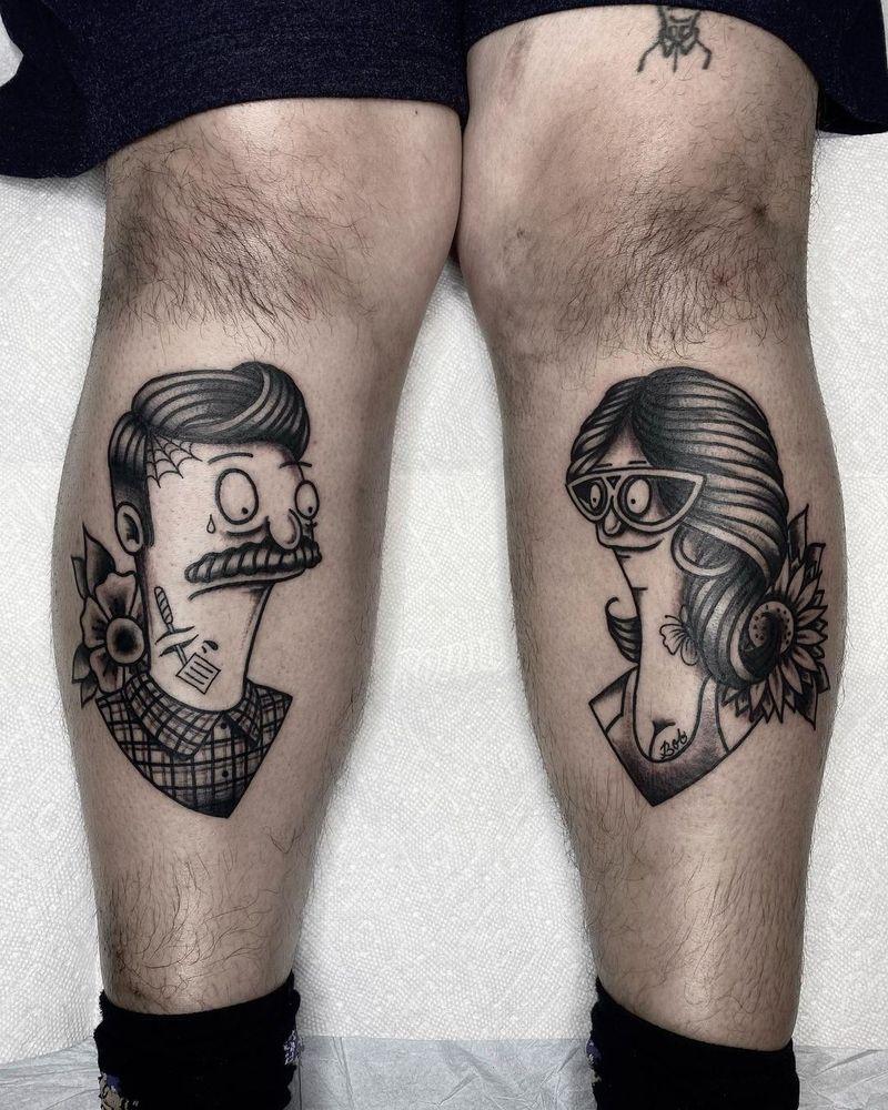 Tattoo from Andre Bertoncin