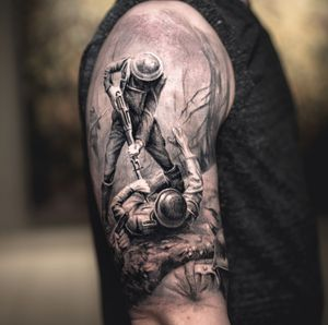 Half sleeve by Darwin