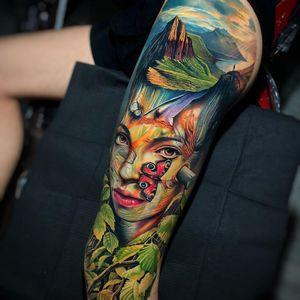 Leg piece by Roberto