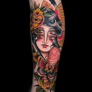 Traditional Woman by Luis