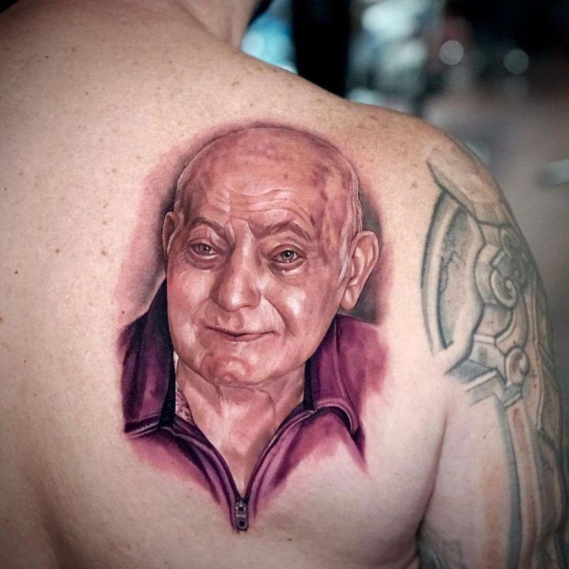 Tattoo from Zhimpa Moreno