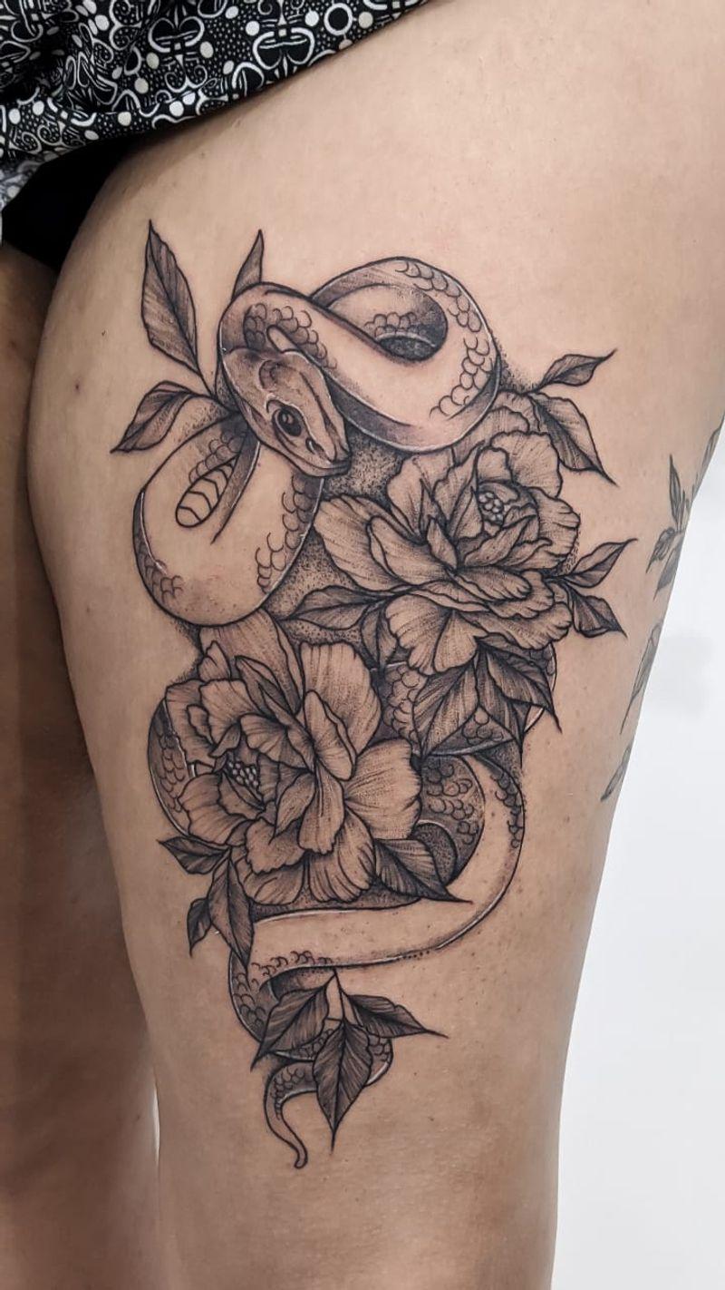 Tattoo from Horta Rara Tattoo