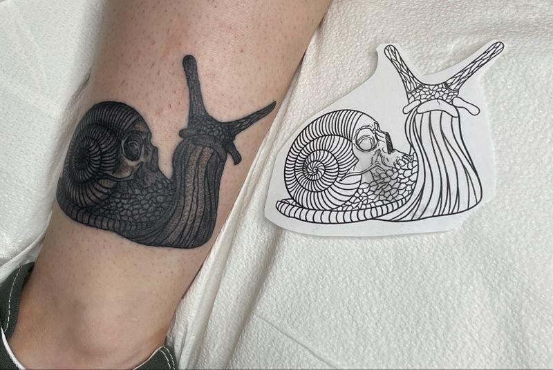 Tattoo from @inkbyabsinthe