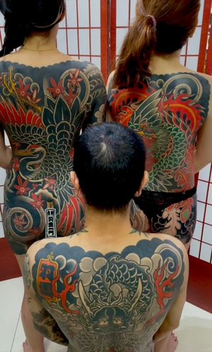 GET A BODYSUIT . . . #feathercloudfamily #singaporetattoo #bodysuits #feathercloudtattoo #japanesetattoo feathercloudgallery.com
