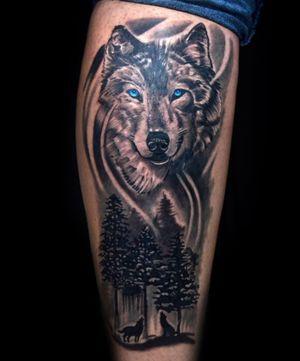 #wolftattoo #wolf #lobo #lobotattoo #thiagopadovani