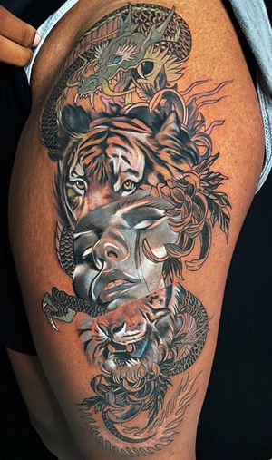 Tattoo from Rakhee Shah