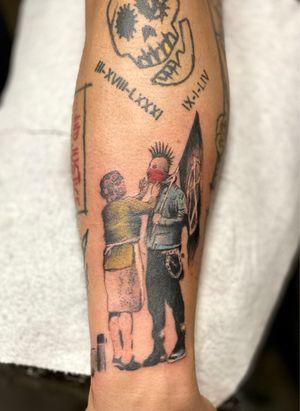 Tattoo from Esteban Benitez