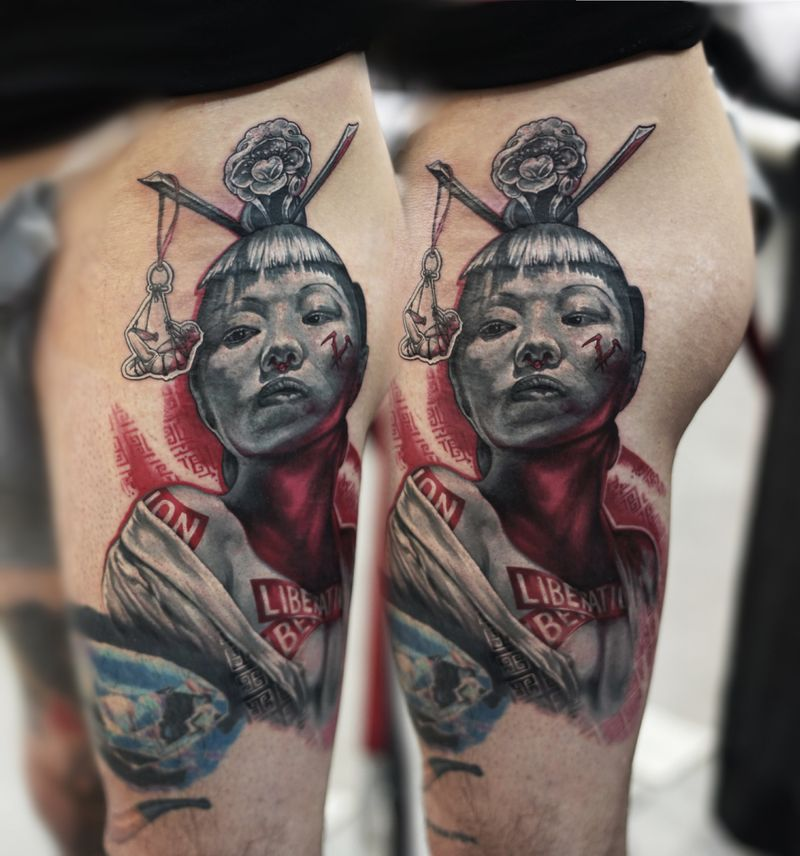 Tattoo from Egor