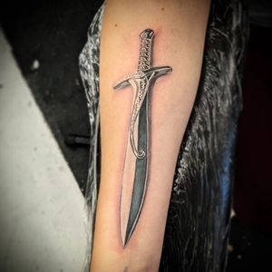 Tattoo from Mark Strong