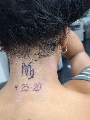 Touchup and anniversary tattoo