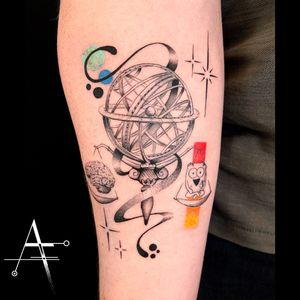 🧠 ⚖️ ♥️ . For custom designs and booking; alperfiratli@gmail.com . . . . . #geometrictattoo #geometric #colortattoo #astronomylover #tattooidea #customtattoo #heart #hearttattoo #surreal #finelinetattoo #brain #abstracttattoo #braintattoo #heartandbrain #theawkwardyeti #compasstattoo #armillary #spacetattoo #abstractart #scientificillustration #surrealtattoo #surrealart #astronomy #science #scienceart #scale #awkwardyeti #globetattoo #scientific