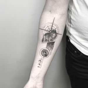 Tattoo from David May