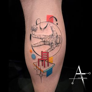 🧑🚀 🪑 Original sculpture artwork by @josephklibansky . For custom designs and booking; alperfiratli@gmail.com . . . . . #geometrictattoo #geometric #colortattoo #tattoo #tattooidea #customtattoo #spacesuit #astronaut #surreal #surrealism #sculpture #abstracttattoo #psychedelic #solarsystem #spaceman #space #josephklibansky #spacetattoo #abstractart #astronauttattoo #surrealtattoo #surrealart #sculpturetattoo #science #scienceart #planet #planettattoo #startattoo #scientific