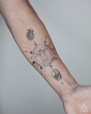 Custom design for Leonardo da Vinci