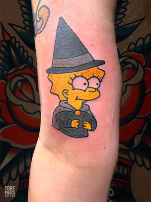 The Simpsons Witchy Lisa Tattoo