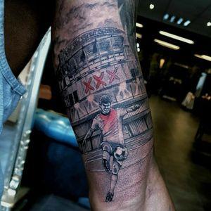 Ajax stadium soccer player tattoo xxx