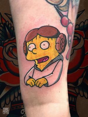The Simpsons Ralph Wiggum Tattoo