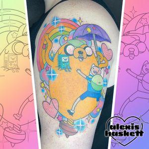 Adventure time totoro mashup