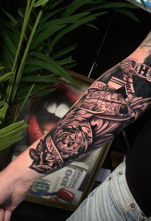 Tattoo from @bewgietattoo