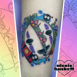 No face from spirited away split mask