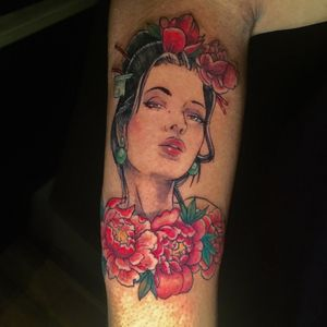 Tattoo from Frankie Brown