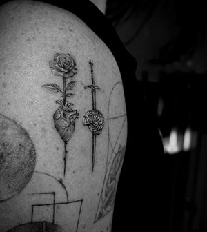 Tattoo from Peter Saba