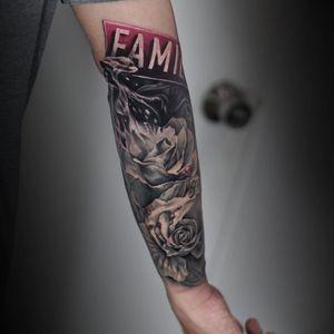 Tattoo by Sashatattooing Studio LA
