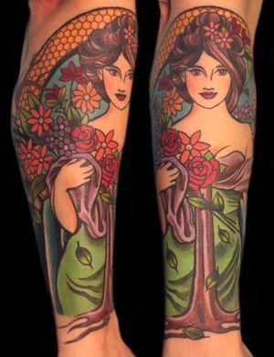 #tattoo #ladytattoo